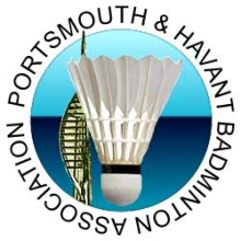 Logo - Portsmouth & Havant Badminton Association